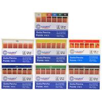 GAPADENT Dental Absorbent 120 Points 15-40# 0.02 Gutta Percha Taper Endodontic