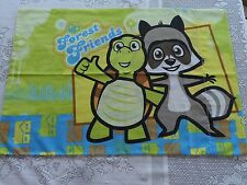 Over the Hedge Hammy Forest Animal Friends Standard Pillow Case Kids Room Sheets