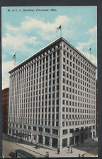 America Postcard - B of L.E.Building, Cleveland, Ohio RS5457