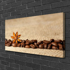 Canvas print Wall art on 100x50 Image Picture Coffee Beans Kitchen