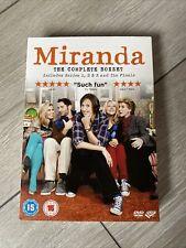 Miranda Complete Series 1-3 & Finale DVD good Condition