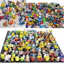 48 Stück Pokèmon Pokemon GO PIKAQIU Monster Figuren 2-3cm in zufälliger Geschenk