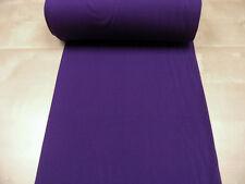 Bündchen • lila • Baumwoll Jersey glatt uni • 0,5m