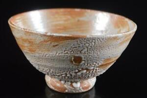 #973: Korean Lý Dynasty White glaze TEA BOWL Green tea tool Tea Ceremony