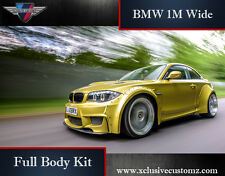 BMW 1 M FULL Wide Body Kit BMW 1 Série E82 ou E88 BMW M1 Bodykit BMW coupé M
