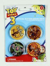 Pin's Toy Story 4 badges Toy Story et ses amis, Disney (2ème version)