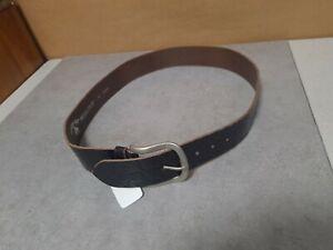 Cowboysbelt Ledergürtel,Designergürtel dunkelbraun Echtleder, 95 cm