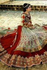 Bollywood Maroon Party Wear Lehenga Choli Indian Pakistani Saree Wedding Lengha