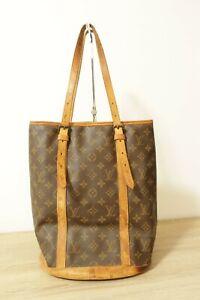 Authentic Louis Vuitton Monogram Bucket GM Shoulder Bag  #8959