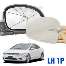 Replacement Side Mirror LH 1P + Adhesive for HONDA 2006-2009 Civic Coupe