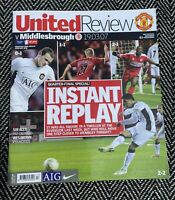 Manchester United v Middlesbrough FA Cup Replay 19/3/07!FREE UK DELIVERY!LAST 1!