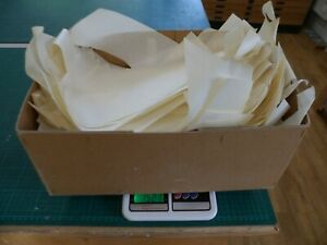1kg of genuine parchment / vellum offcuts for repair, bookbinding, crafts etc.