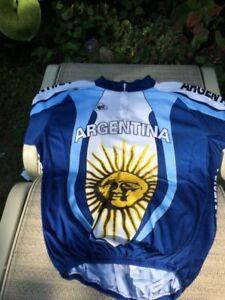 Argentina full-sleeve bike jersey (XXL)