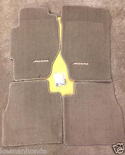 Genuine OEM Honda Accord 4dr Sedan Beige Tan Carpet Floor Mat Set 1998-2002 Mats