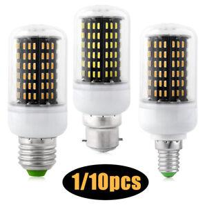 1/10Pcs E14 E27 B22 LED Corn Light Bulbs 12W - 35W Screw Bayonet White Lamp 230V