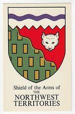 Shield of Arms NORTHWEST TERRITORIES Canada Grant-Mann Heraldic Postcard