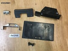BUELL X1 LIGHTNING 2002  REGO PLATE HOLDER  MIXED PARTS   LOT31  31C2961 - M541