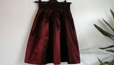 Vintage 1980s skirt. Laura Ashley. Black and red. Stunning.