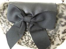 Kate Spade Bonsoir Indie Faux Fur Crossbody Bag Nwt