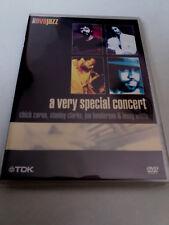"""CHICK COREA STANLEY CLARKE JOE HENDERSON """"A VERY SPECIAL CONCERT"""" DVD COMO NUEVO"""