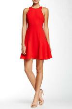 TRINA TURK Size 8 NEW WOT 'Jeri' Sleeveless Dress Lacquer Red