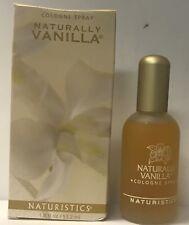 Naturistics  Naturally Vanilla  Cologne Spray 1.8 fl oz / 53.2 ml boxed , Glass