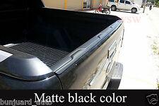 BLACK REAR TAILGATE COVER TRIM ABS FORD RANGER T6 12 13 14 15 XL PX XLT WILDTRAK