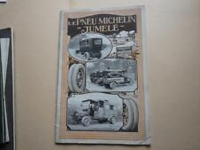 1910.catalogue publicité pneu Michelin jumelé.