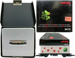 Marklin Z Scale 86172 Lady Bug Container Car In Special Box C8