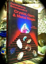 CUNNINGHAM'S ENCYCLOPEDIA OF CRYSTAL, GEM & METAL MAGICK ~ 2001 SC  OCCULT WICCA