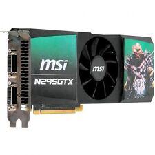 SCHEDA GRAFICA PCI EXPRESS_NVIDIA GeFORCE_1GB_N295 GTX_DUAL-DVI_DDR3 <MSI>