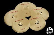 "Masterwork Cymbals Troy Cymbal Pack Box Set + 18"" Crash (14HH-16+18CRS-20R+Bag)"