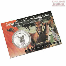 1995 Royal Australian Mint Uncirculated Specimen $1 Silver Frosted Coin - 1 oz