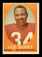 1958 Topps #93 Joe Perry EX+ X1239860