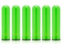 6 PACK - Dye Alpha Paintball Pod - 150 Round Paintball Pods - Lime