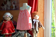 blouse neuve petite bateaux 4 ans rayee rouge blanc noeud