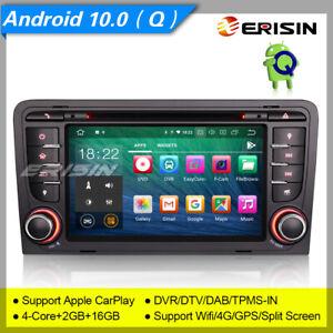 TNT Android 10 Audi A3 Autoradio S3 RS3 RNSE-PU DAB+ CarPlay GPS Mirror DVR 5147