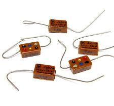 5x Jahre Mica Strat Glimmer-Kondensator 68 pF, Tone Capacitor, 1960s NOS