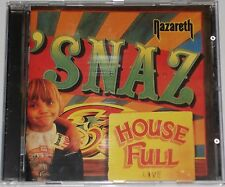 NAZARETH CD SNAZ (UK IMPORT) 1997 HOUSE FULL  NEAR MINT