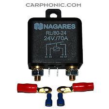 Nagares trennrelais BATTERIA RELè carico relè 24 Volt V battery relay 70 AMPERE