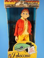 """Awesome Pinocchio Doll  Featuring Jonathan Taylor Thomas 8.5""""  Equity Toys MIB"""