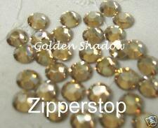 144 Swarovski Crystal Rhinestones ~ 30ss ~Golden Shadow