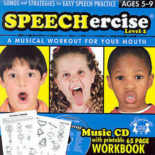 Speechercise Level 2: A Musical Workout for Your Mouth (ages 5-9) (Audio CD)