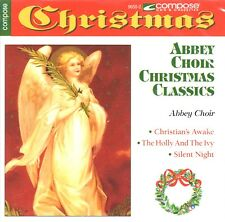 Christmas Classics by Abbey Choir (CD, 1993, Compose) BRAND NEW FACTORY SEALED