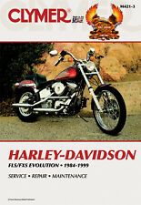 CLYMER MANUAL HARLEY SOFTAIL STANDARD FXST 1984-90 & 1990, CUSTOM FXSTC 1985-99