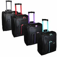 New Fly Ryanair Cabin Baggage Wheeled Hand Luggage Holdall Travel Suitcase Bags