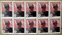 Barry Bonds 1990 Upper Deck #227 Pittsburgh Pirates 10ct Card Lot