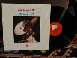 Cecil Taylor LP What's New Freedom FLP 40124