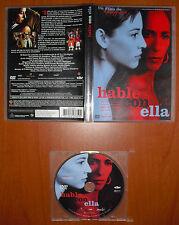 Hable con Ella (Talk to Her) [DVD] Pedro Almodóvar,Javier Cámara,Leonor Watling