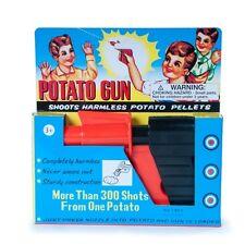 Spud Gun Potato Pistol Classic Retro Vintage Toy - Safe for Children Kids